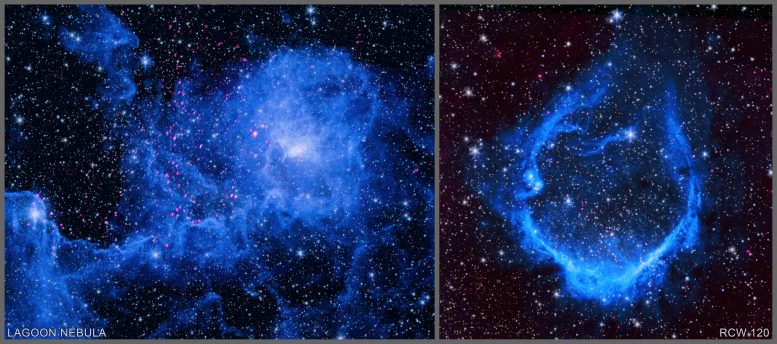 Two Star-Forming Regions