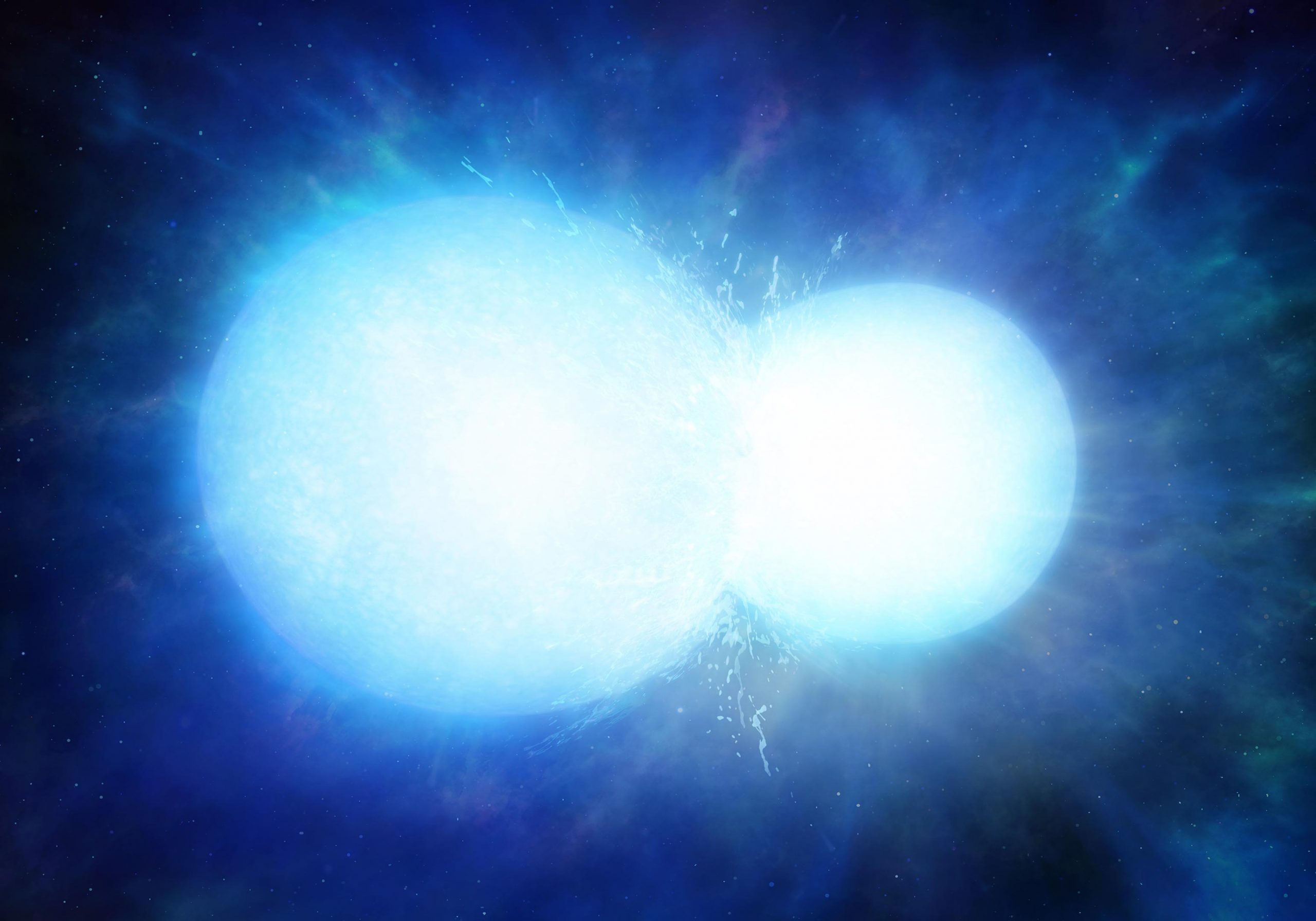 Massive white dwarf may actually be two stars