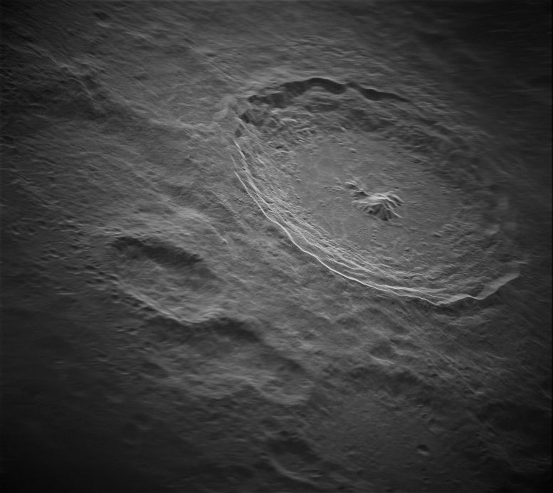Tycho Crater Moon
