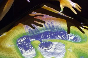UCLA's Augmented Reality Sandbox