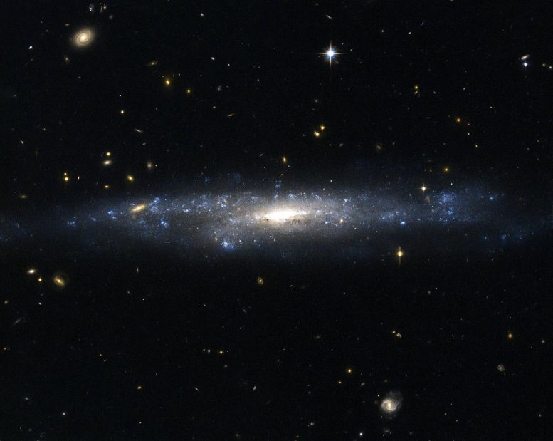 UGC 477 Low Surface Brightness Galaxy