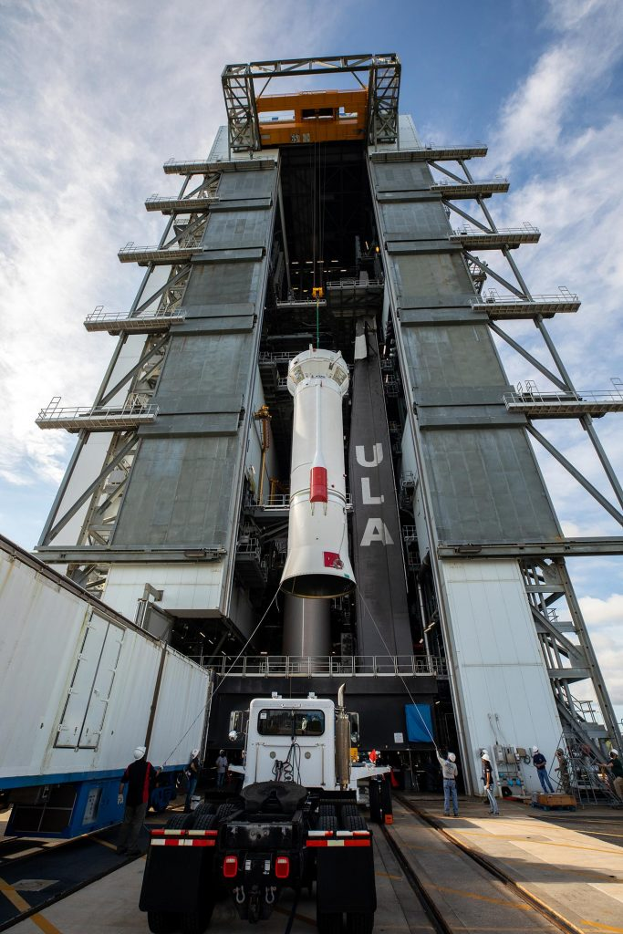 ULA Centaur Stage for NASA's Lucy Mission