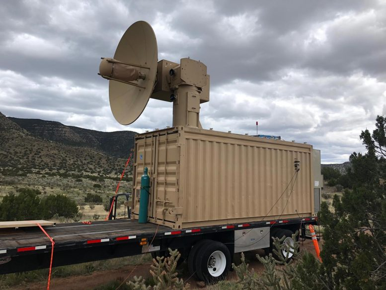US Air Force Microwave Weapon
