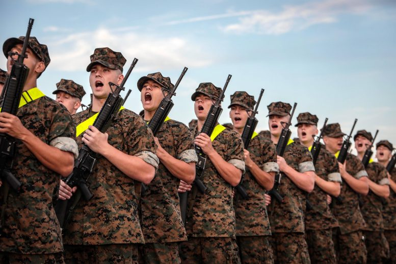 US Marine Corp Recruits