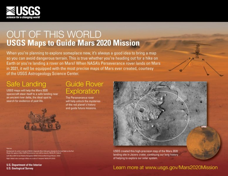 USGS Maps to Guide Mars 2020 Mission