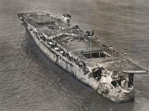 USS Independence at Anchor in San Francisco Bay