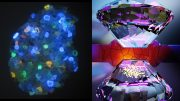 UV Light Diamond Anvil Composition