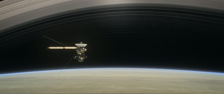 Ultra Close Orbits of Saturn