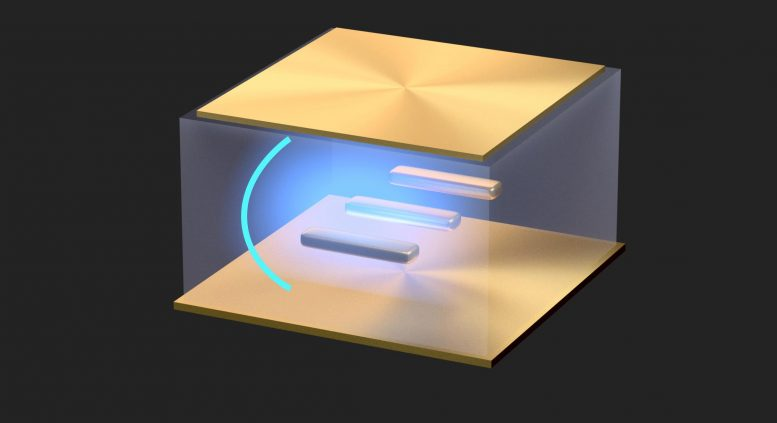Ultrastrong Light-Matter Coupling at Room Temperature