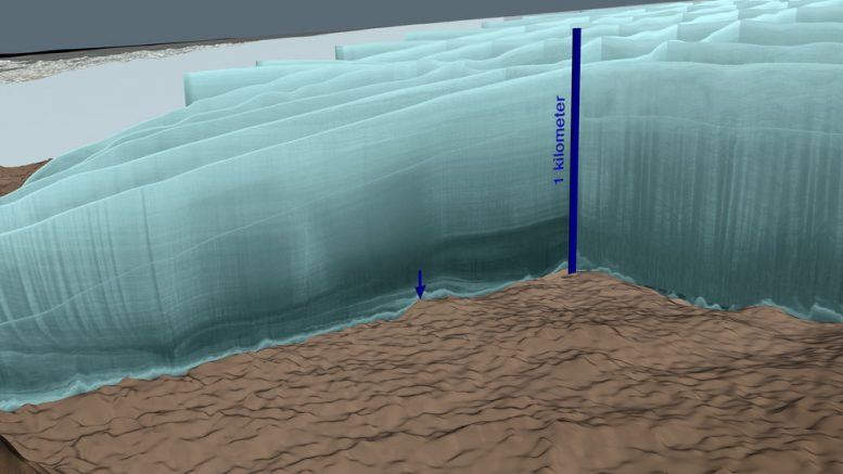 Unexpected discovery under Greenland ice