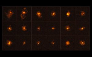 Unexpected Giant Glowing Halos around Distant Quasars Discovered