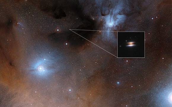 Unexpectedly Cold Grains in Planet-Forming Disc Discovered