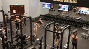University of Colorado Boulder Cheerleaders Work Out