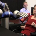 Using thoughts to control a robotic arm