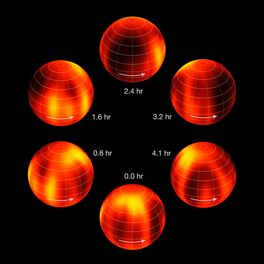 VLT Creates First Map of Weather on the Surface of a Brown Dwarf
