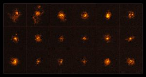 VLT Detects Unexpected Giant Glowing Halos around Distant Quasars