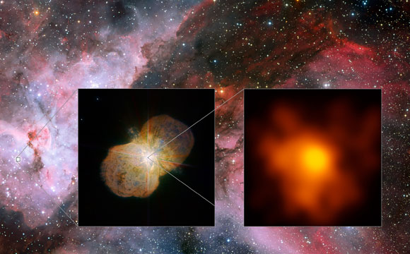 VLT Provides Highest Resolution Image of Eta Carinae
