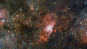 VST Views Glowing Cloud of Gas Called Sharpless 2-54