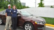 VW Passat TDI Clean Diesel Vehicle Travels 1626 Miles on One Tank of Fuel