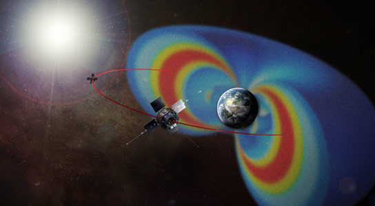 New Observations Reveal How Electrons Accelerate in the Van Allen Radiation Belts