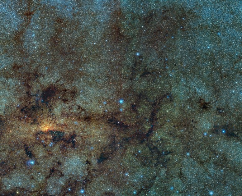 Variable Stars Close to the Galactic Center