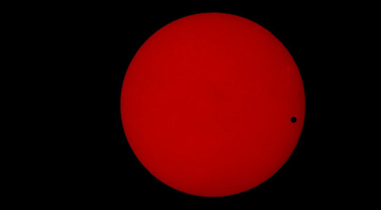 Venus makes a rare transit of the Sun on Tuesday, June 5