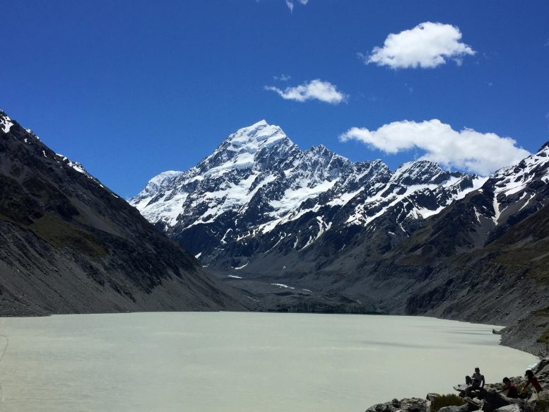 View Across Hooker Lake to Aoraki