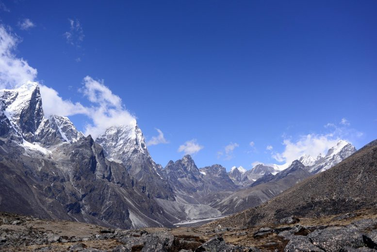 View Towards Khumbu and Cholatse