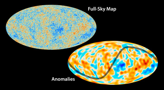 View of the Cosmic Microwave Background