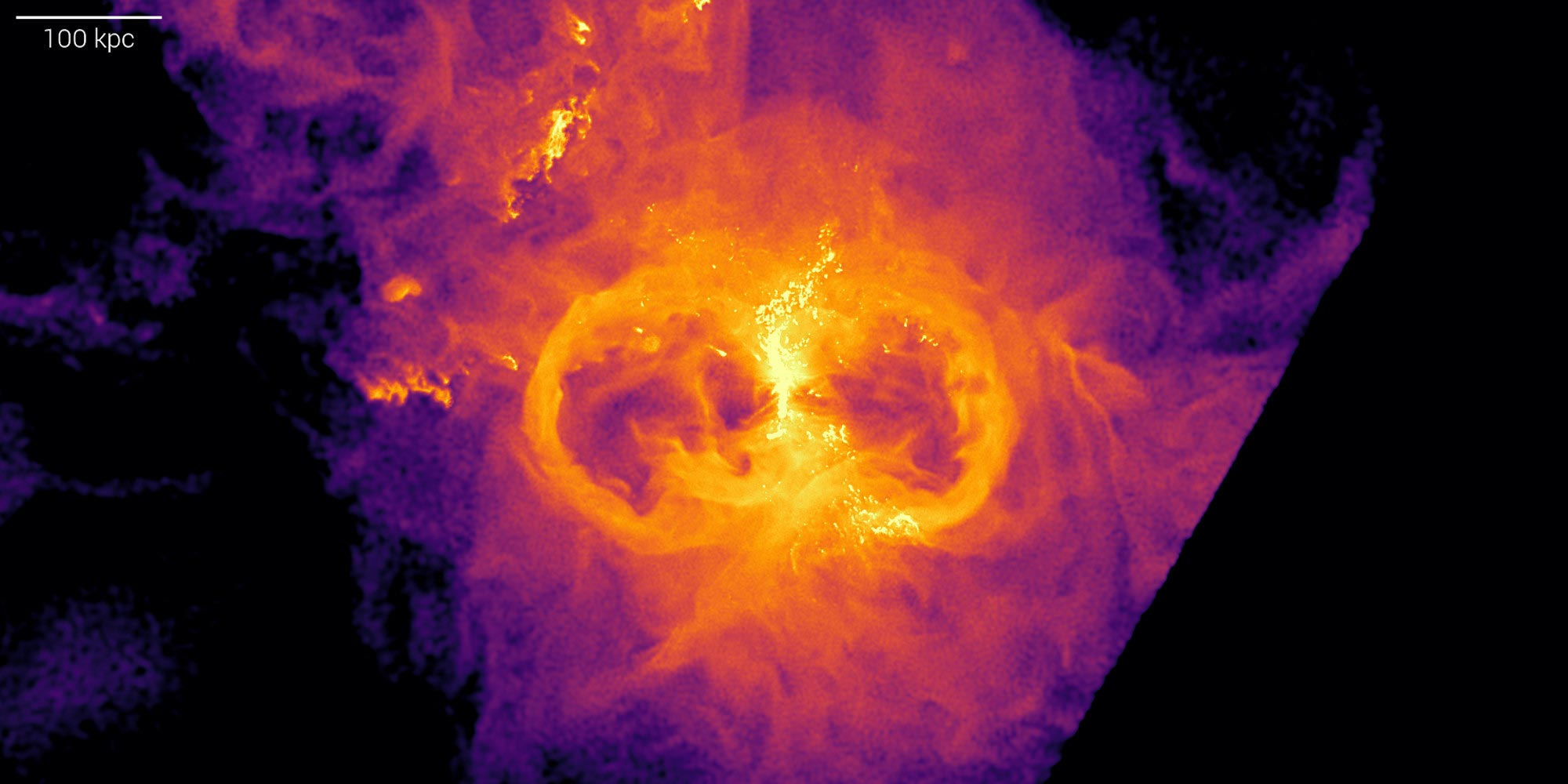 Cosmic Mass Monsters Clear the Way: Black Holes Help With Star Birth
