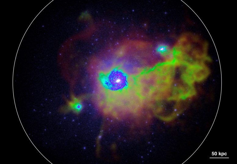 Visualization of Gas in and Around a Milky-Way-Like Galaxy