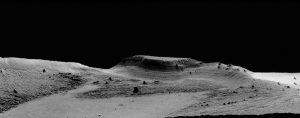 Volcanoes Spawned Mysterious Martian Rock Formation