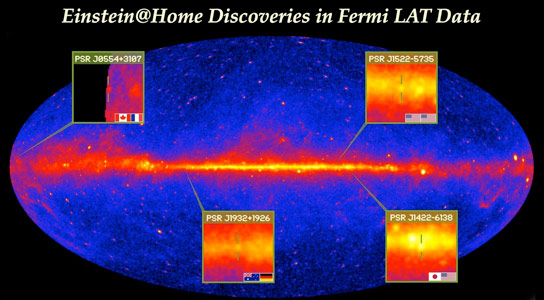 Volunteers Discover Cosmic Lighthouses in Fermi Data