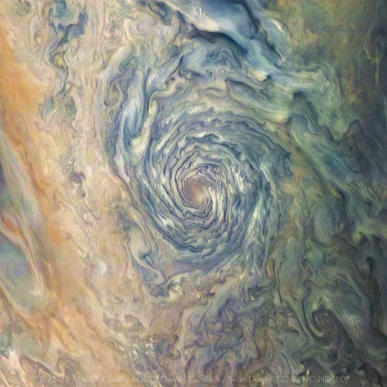 Vortex Jupiter Clouds