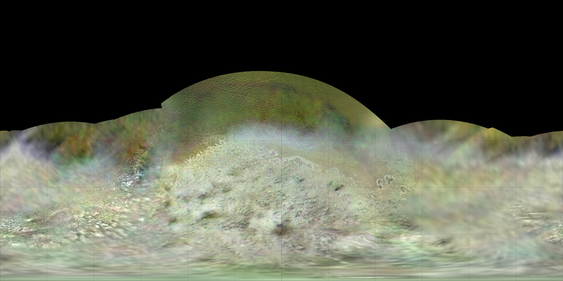 New Color Map of Neptune's Moon Triton