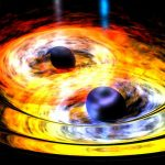 WISE Detects Two Entwined Supermassive Black Holes