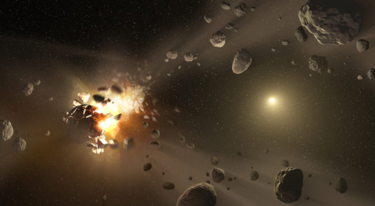 WISE Mission Finds Lost Asteroid Family Members