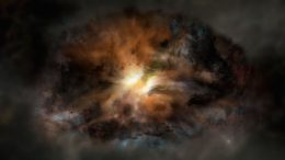 WISE Reveals Luminous Galaxy Ripping Itself Apart