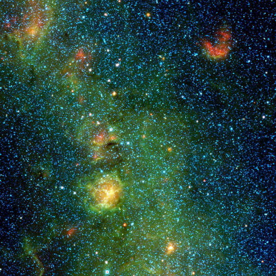 WISE Views  the Trifid Nebula