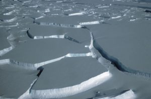 Warm ocean currents cause ice loss in Antarctica