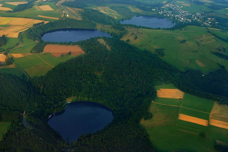 Water-Filled Maars Eifel, Germany