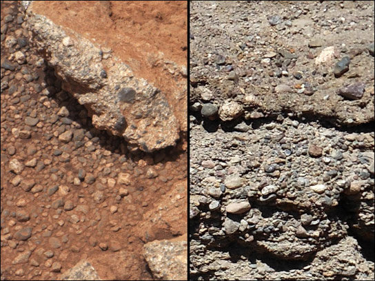Water Once Flowed on Mars