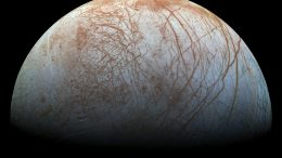 Watery Plumes Jupiter's Moon Europa