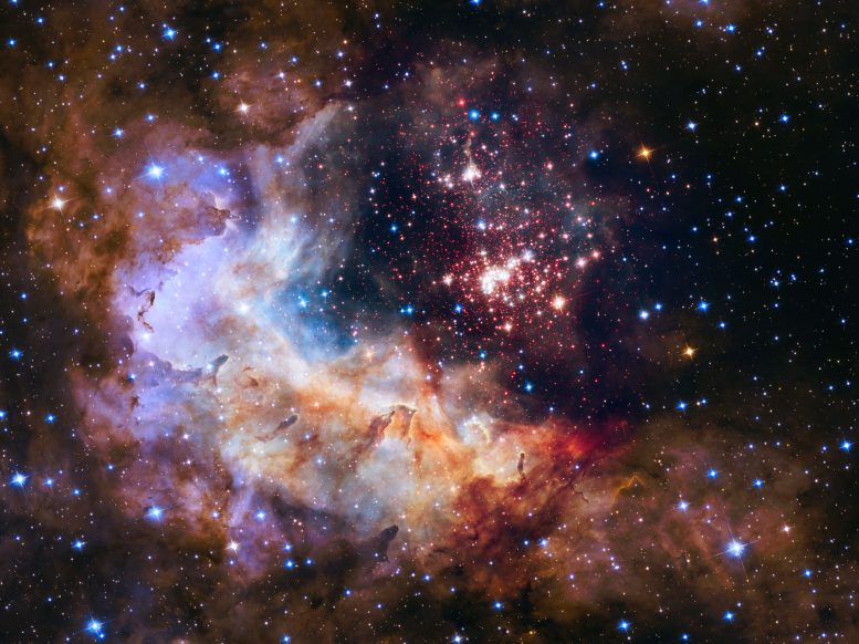 Westerlund 2 Hubble's 25th Anniversary Image