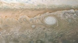 White Cloud in Jupiter's South South Temperate Belt