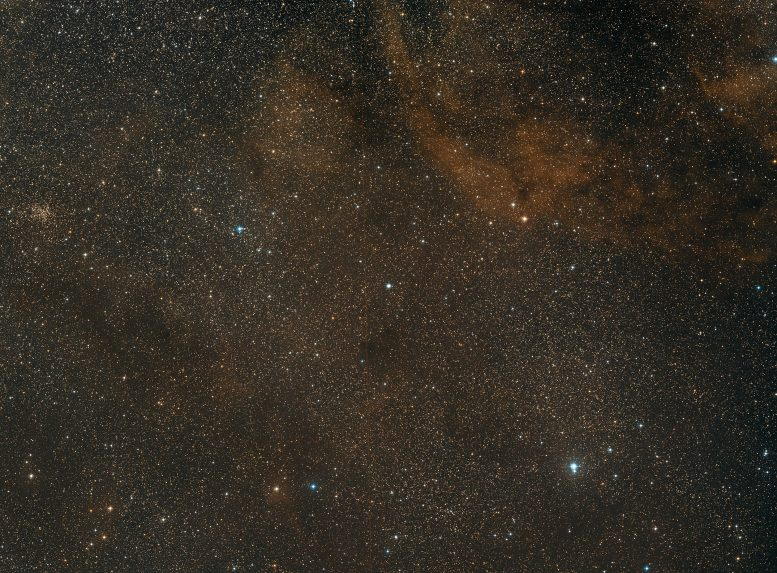 Wide-Field Image of NGC 7027