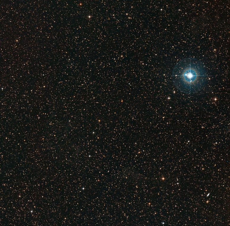 Widefield Image of the Sky Around PDS 70