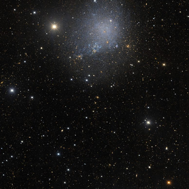 Wider View of Irregular Dwarf Galaxy IC 1613