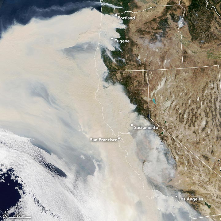 Wildfire Smoke September 9 2020 Annotated