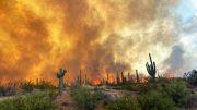 Wildfires Mesa Arizona